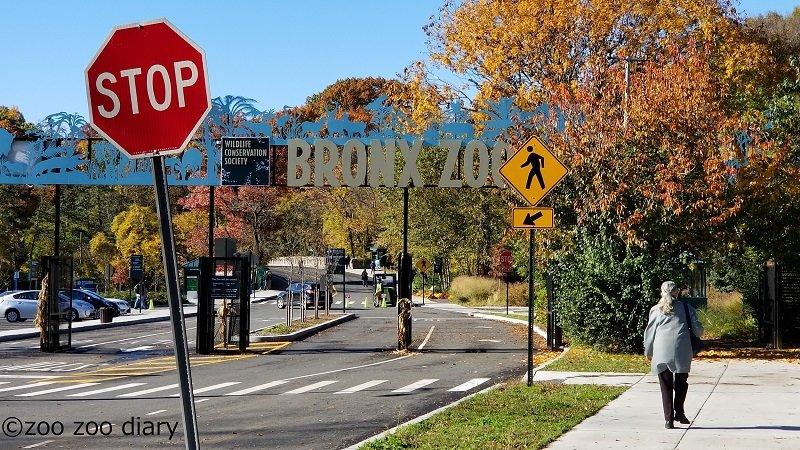 ブロンクス動物園 入口