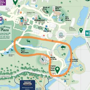 ブロンクス動物園 マップ